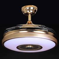 Люстра-вентилятор потолочный IMPERIA светодиодный c выдвижными лопостями LUX-555053