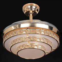 Люстра-вентилятор потолочный IMPERIA светодиодный c выдвижными лопостями LUX-555061