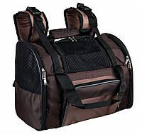 Trixie (Трикси) Shiva Backpack Рюкзак переноска для кошек и собак до 8 кг (41 × 30 × 21 см), фото 1