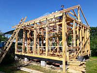 Строительство деревянных каркасно-щитовых домов, фото 1