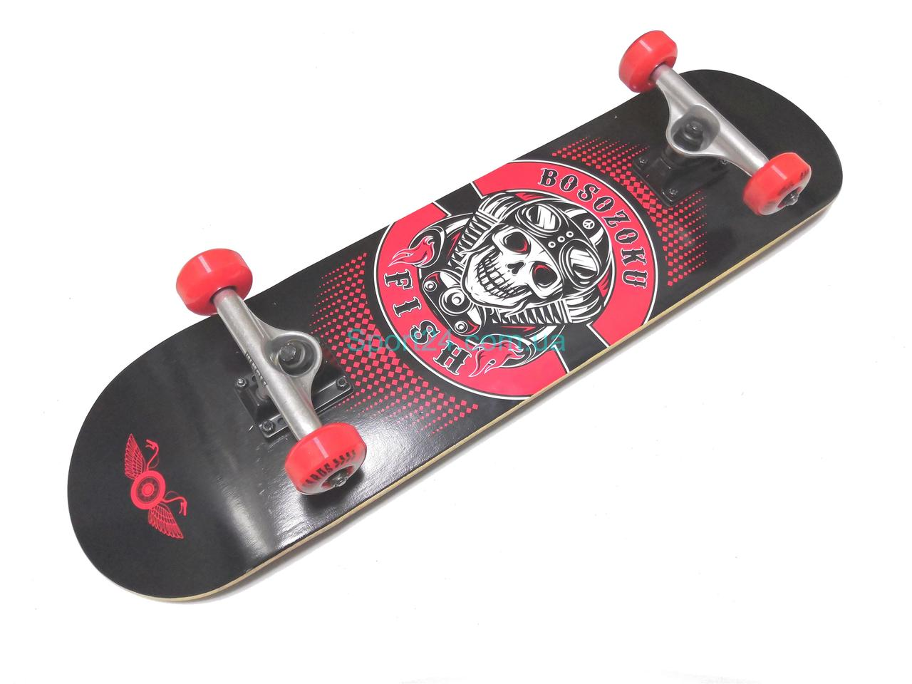 Скейтборд Fish Skateboard Гангстер, до 90 кг