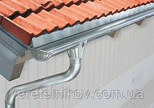 Оцинкованные водостоки Roofart (Руфарт) 125/87.
