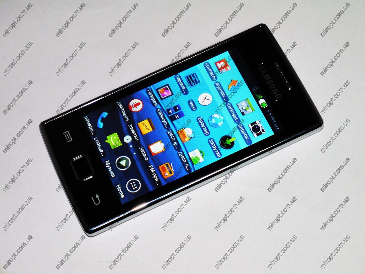 """Телефон Samsung Galaxy 8350 TV Белый - 2Sim + 4.0"""" сенсорный экран - Металл.корпус"""