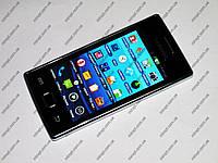 """Телефон Samsung Galaxy 8350 TV Белый - 2Sim + 4.0"""" сенсорный экран - Металл.корпус, фото 1"""
