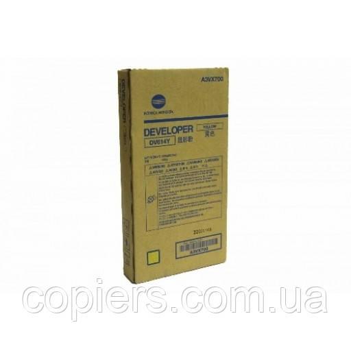 Девелопер DV614 Y Konica Minolta bizhub PRESS C1060 C1060L C1070 C2060 C2060L C2070 C71hc.
