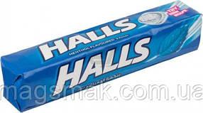 Леденцы Холс / Halls с ментолом, 25г