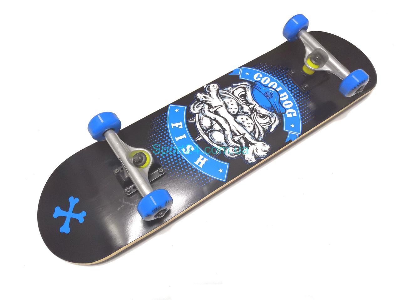 Скейтборд Fish Skateboard Бульдог, до 90 кг