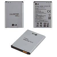 Батарея (акб, аккумулятор) BL-54SH, BL-54SG для LG Optimus G3s D724, 2600 mAh, оригинал
