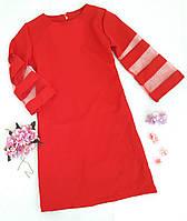Нарядное платье Мишель, р. 134-152, красный, фото 1