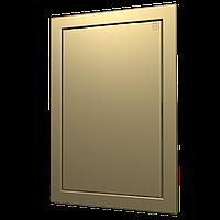 Люк-дверца ревизионная 218х318 с фланцем 196х296 ABS, декоративный, шт