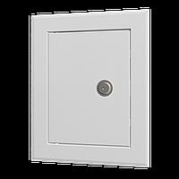 Люк-дверца ревизионный 660х860, фланец 600х800, стальной с замком в гофроупаковке, шт
