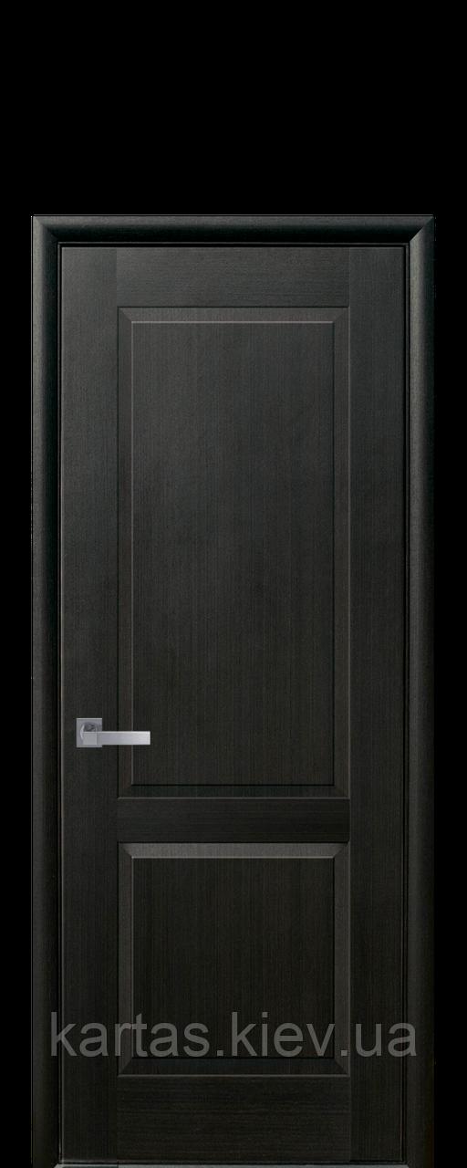 Дверное полотно Эпика Венге New глухое