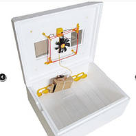 Инкубатор ТЕПЛУША 63 яйца ТЭН + Влагомер + Выход на 12v Адаптер, вентилятор, светоотражатели, литой корпус, фото 1