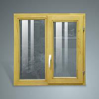 Вікно дерев'яне 1.3 м*1,4 м, фото 1