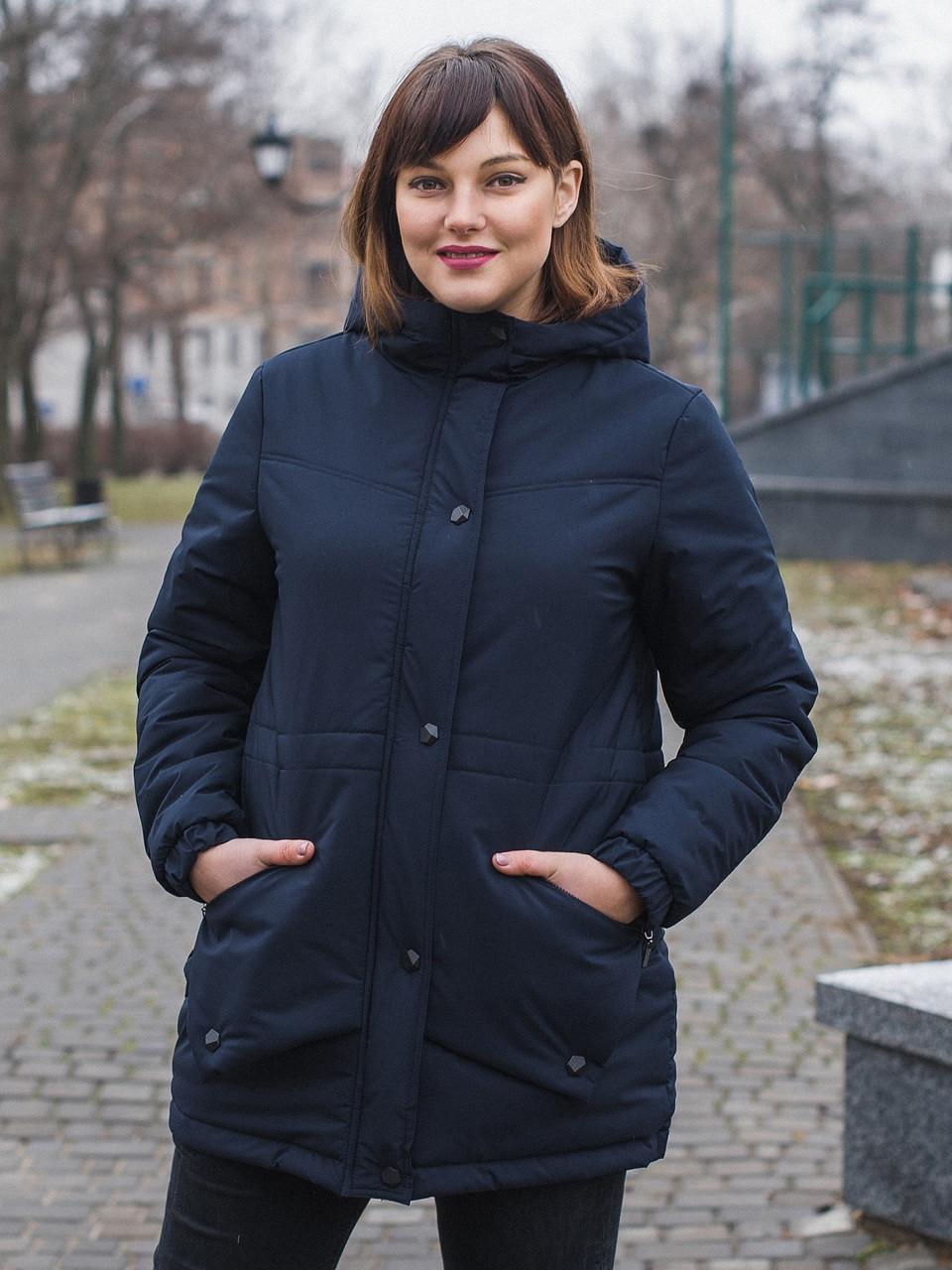 Size+ Женская весенняя куртка, большие рамеры 54-66