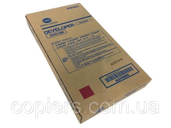 Девелопер DV614 M Konica Minolta bizhub PRESS C1060 C1060L C1070 C2060 C2060L C2070 C71hc.