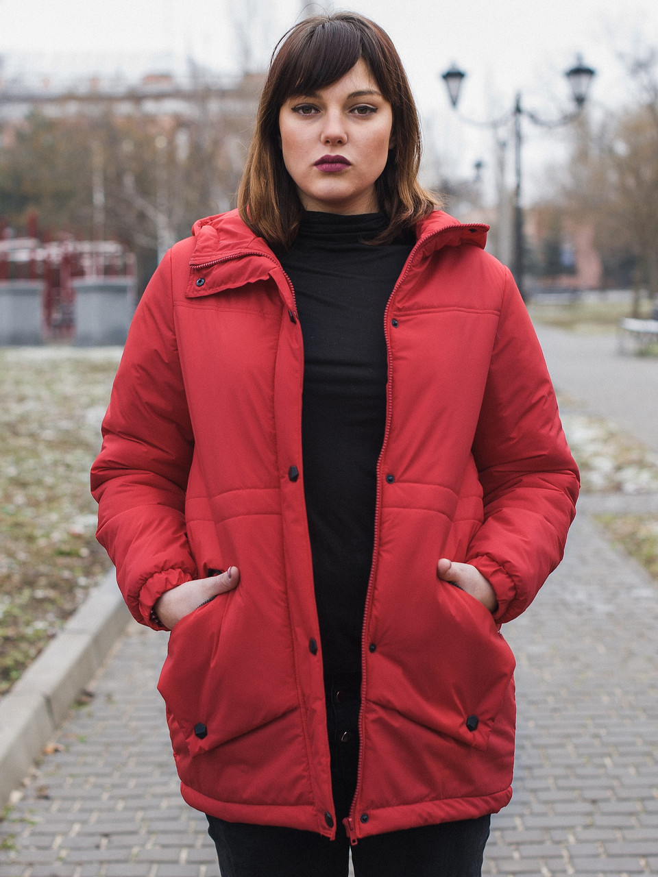 Жіноча куртка 2019 SIZE+ (тільки 64 розмір)