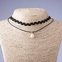 Чокер на шею с подвеской Жемчужинка (им) Код:719017286