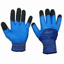 Перчатки рабочие Дермагрип, вспененный латексный облив, уп. — 12 пар