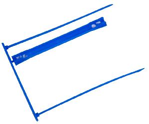 Зшивач архівних документів, синій