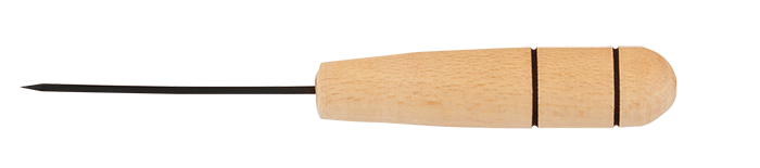 Шило канцелярське BUROMAX, деревяна ручка