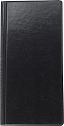 Візитниця вінілова BUROMAX на 96 візиток, чорний,темно-синій,бордовий