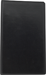 Візитниця вінілова BUROMAX на 200 візиток, чорна,темно-синій,бордо