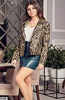 Стильная куртка косуха демисезон эко-кожа 42 44 46 48, фото 2