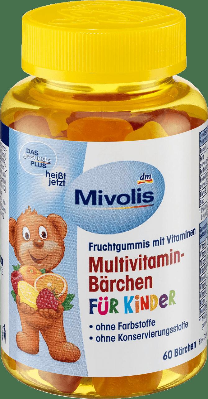Жевательные мультивитамины для детей DAS Gesunde PLUS - Mivolis, 60 шт.