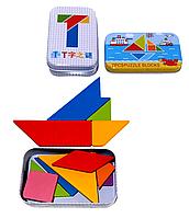 Танграм развивающая игрушка-головоломка