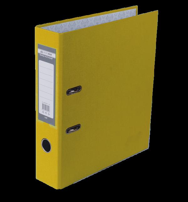 Реєстратор односторонній А4 LUX, JOBMAX, ширина торца 70мм, жовтий