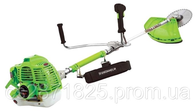 Мотокосa GRUNHELM GR-3200М, 52см3/3,6 кВт, легкий старт,вал 28мм, косильна головка, ножі 3Т/40T, ран