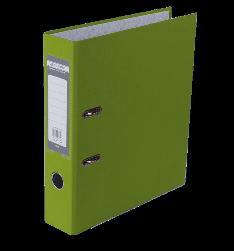 Реєстратор односторонній А4 LUX, JOBMAX, ширина торца 70мм, світло-зелений