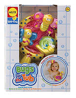 Игрушка для ванны Цветные букашки Alex