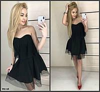 52147cef715 Вечернее платье сетка в горошек 392 АБ Код 878484259