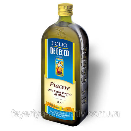 Оливковое масло De Cecco Piacerre Extra Virgin 1л (Италия)