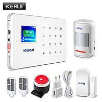 Беспроводная GSM сигнализация Kerui G18 русское меню. Комплект 1
