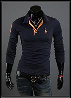 Свитшот, свитер, кофта синий цвет M-XXXL код 41, фото 1