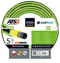 Шланг садовий Cellfast Green ATS2 для поливу діаметр 3/4 дюйма, довжина 25 м (GR 3/4 25)