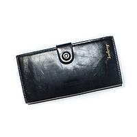 Женский кошелекна магните Baellerry черный, фото 1