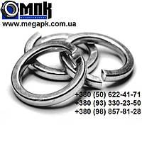 Шайба нержавеющая Ø 3 мм пружинная гровер, нержавеющая сталь А2,А4, DIN 7980, ГОСТ6402-70.