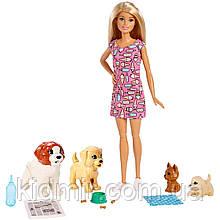 Лялька Барбі Щенячий дитячий садок Barbie Doggy Daycare FXH08