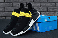 Мужские кроссовки Adidas x Pharrell Williams Human Race NMD Black/Yellow