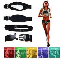 Сумочка для бега, спортивный пояс для телефона Havit HV-SA006, черная, фото 3