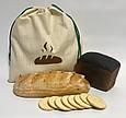 Экомешок для вещей и продуктов, еко торбинка, екоторбинка, хлопковый мешок, хлебница, фото 2