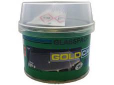 Шпатлевка со стекловолокном Gold Car GLAS 0,21 кг