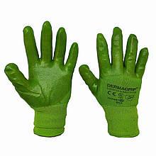 Перчатки рабочие Dermagrip с силиконовой пропиткой, № 10, уп. — 12 пар