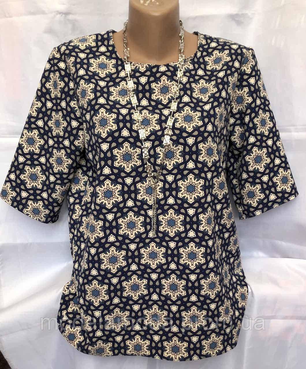 Блуза женская летняя с красивым орнаментом