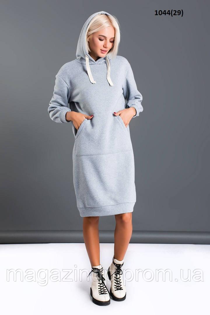 Женское теплое  платье 1044(29) Код:765784723