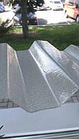 Волнистый поликарбонат Marlon CS прозрачный шагрень 1,06х3,0 м